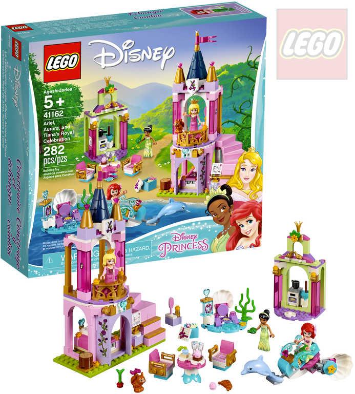 LEGO PRINCESS Královská oslava Ariel, Šípkové Růženky a Tiany STAVEBNICE 41162