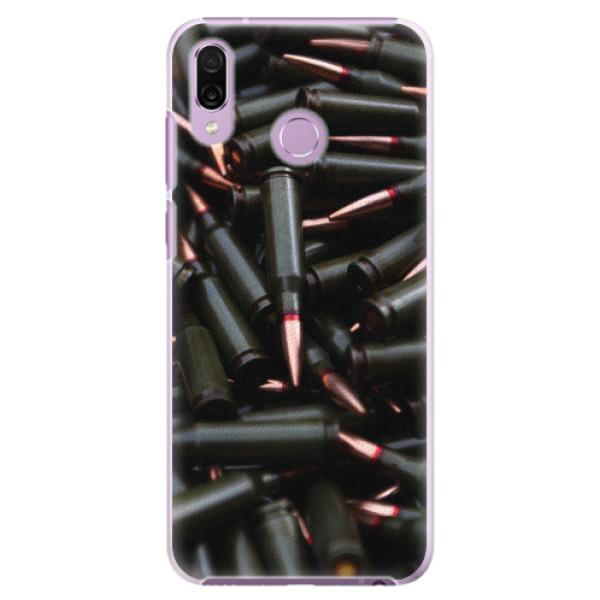 Plastové pouzdro iSaprio - Black Bullet - Huawei Honor Play