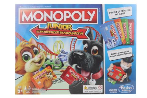 Monopoly Junior:Elektronické bankovnictví CZ