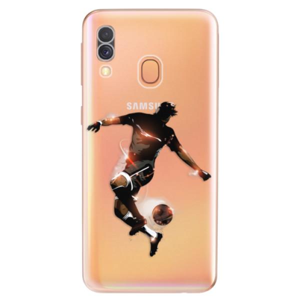 Odolné silikonové pouzdro iSaprio - Fotball 01 - Samsung Galaxy A40