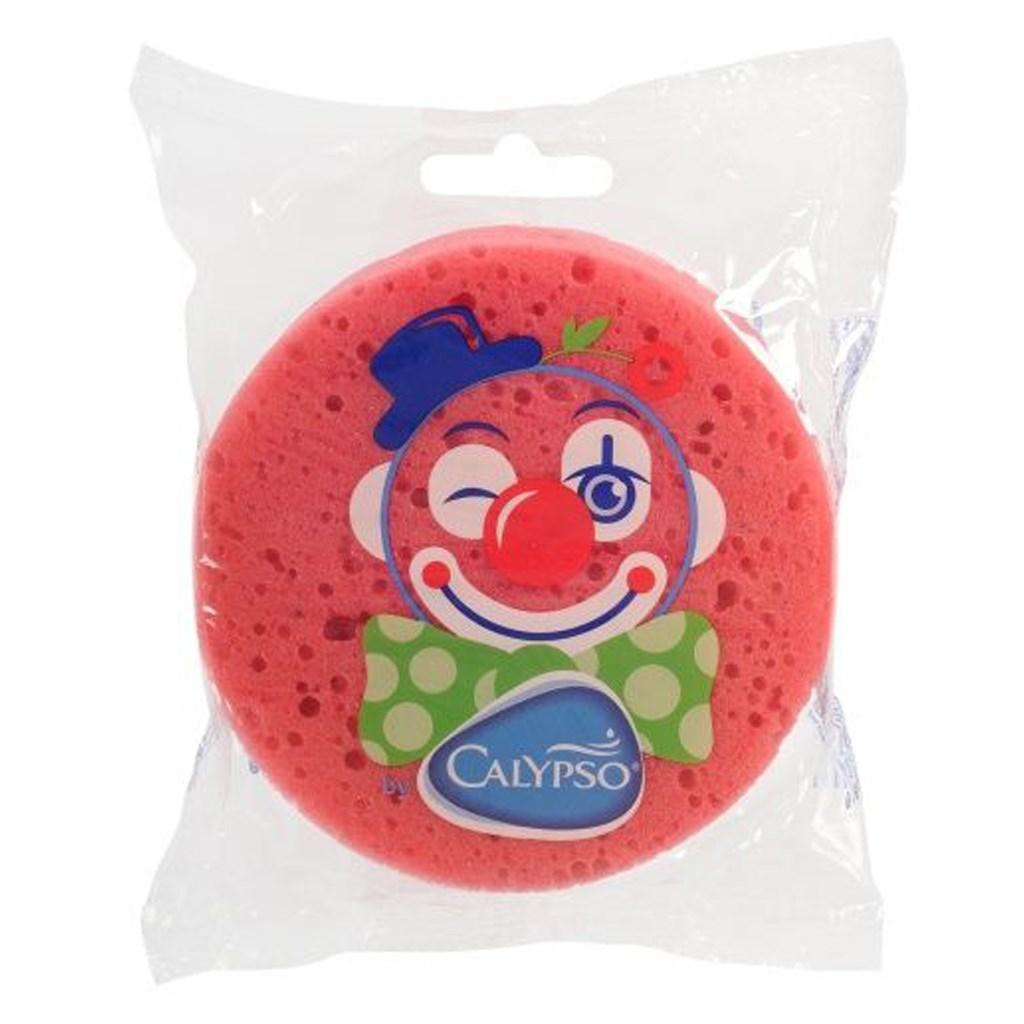 Koupelová houba Klaun Calypso tmavě - růžová