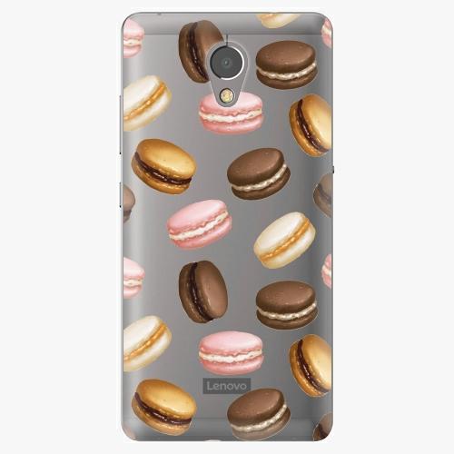 Plastový kryt iSaprio - Macaron Pattern - Lenovo P2