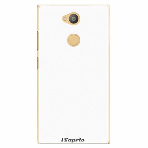 Plastový kryt iSaprio - 4Pure - bílý - Sony Xperia L2