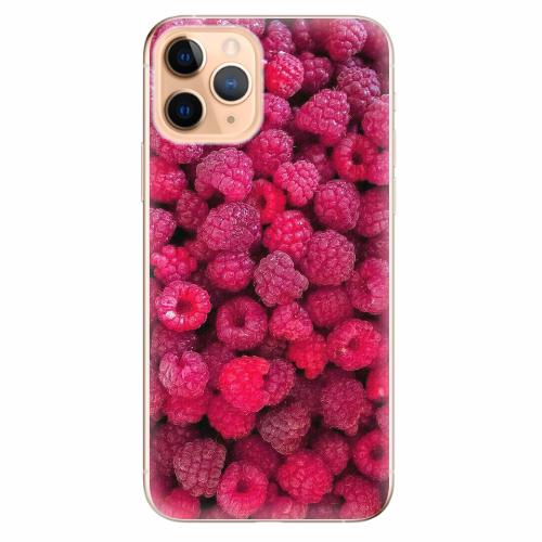Silikonové pouzdro iSaprio - Raspberry - iPhone 11 Pro