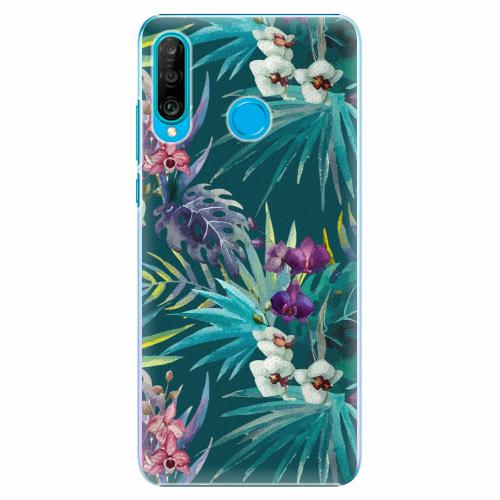 Plastový kryt iSaprio - Tropical Blue 01 - Huawei P30 Lite