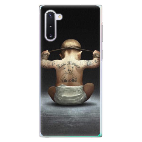 Plastové pouzdro iSaprio - Crazy Baby - Samsung Galaxy Note 10