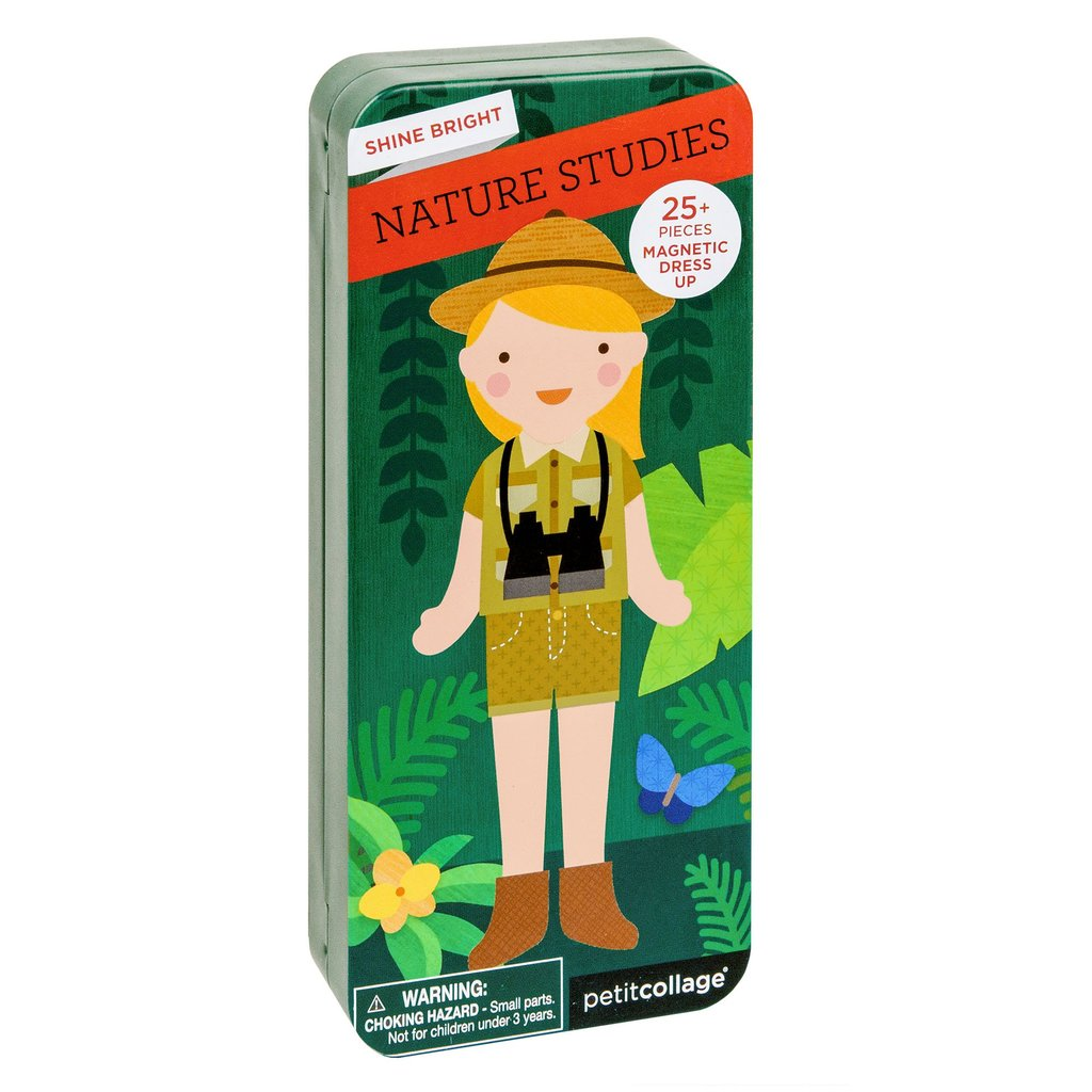 Petitcollage Magnetické puzzle Přírodovědkyně