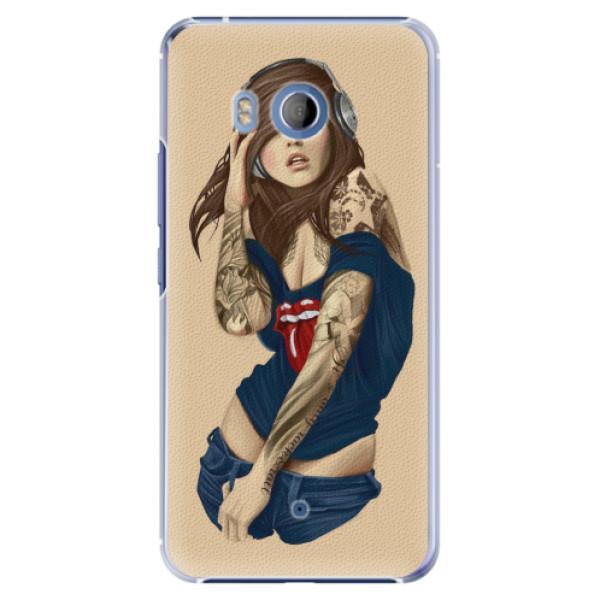 Plastové pouzdro iSaprio - Girl 03 - HTC U11