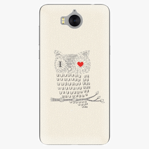 Plastový kryt iSaprio - I Love You 01 - Huawei Y5 2017 / Y6 2017