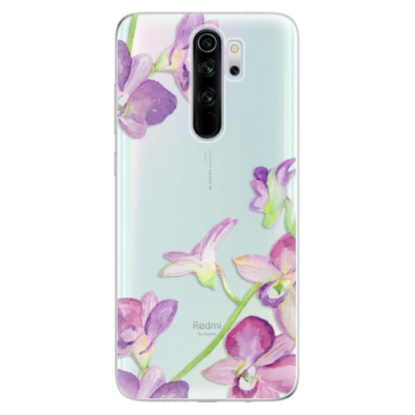 Odolné silikonové pouzdro iSaprio - Purple Orchid - Xiaomi Redmi Note 8 Pro