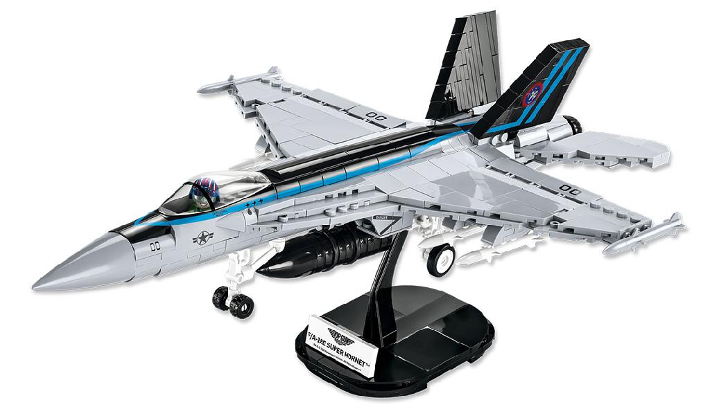Stavebnice TOP GUN F/A-18E Super Hornet, 1:48, 570 k