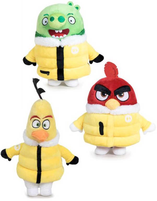 PLYŠ Angry Birds Movie 2 postavička 24-34cm v bundě *PLYŠOVÉ HRAČKY*