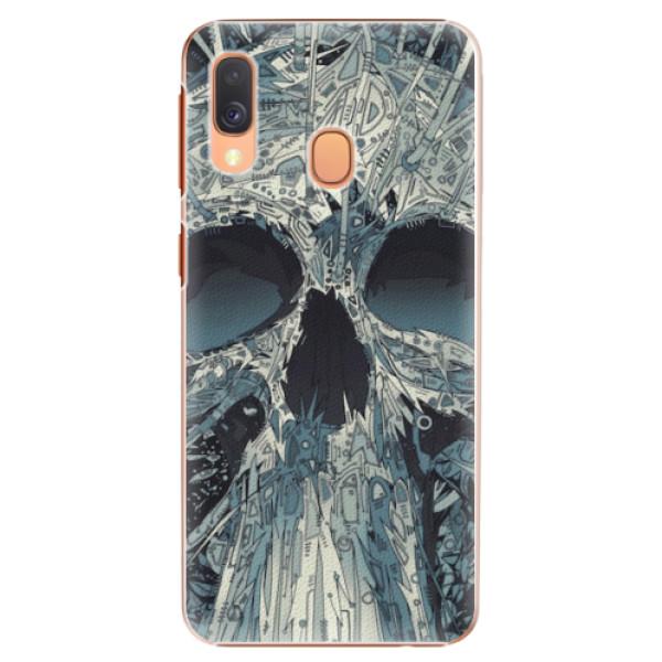 Plastové pouzdro iSaprio - Abstract Skull - Samsung Galaxy A40