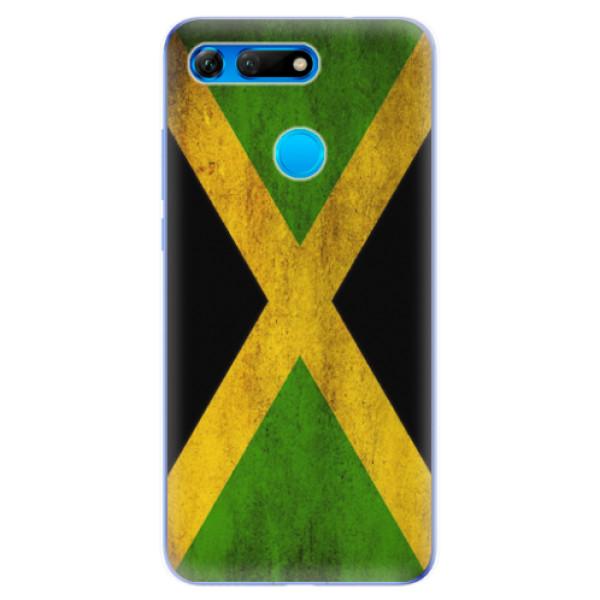 Odolné silikonové pouzdro iSaprio - Flag of Jamaica - Huawei Honor View 20
