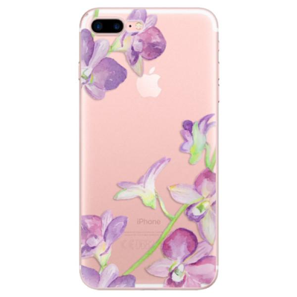 Odolné silikonové pouzdro iSaprio - Purple Orchid - iPhone 7 Plus