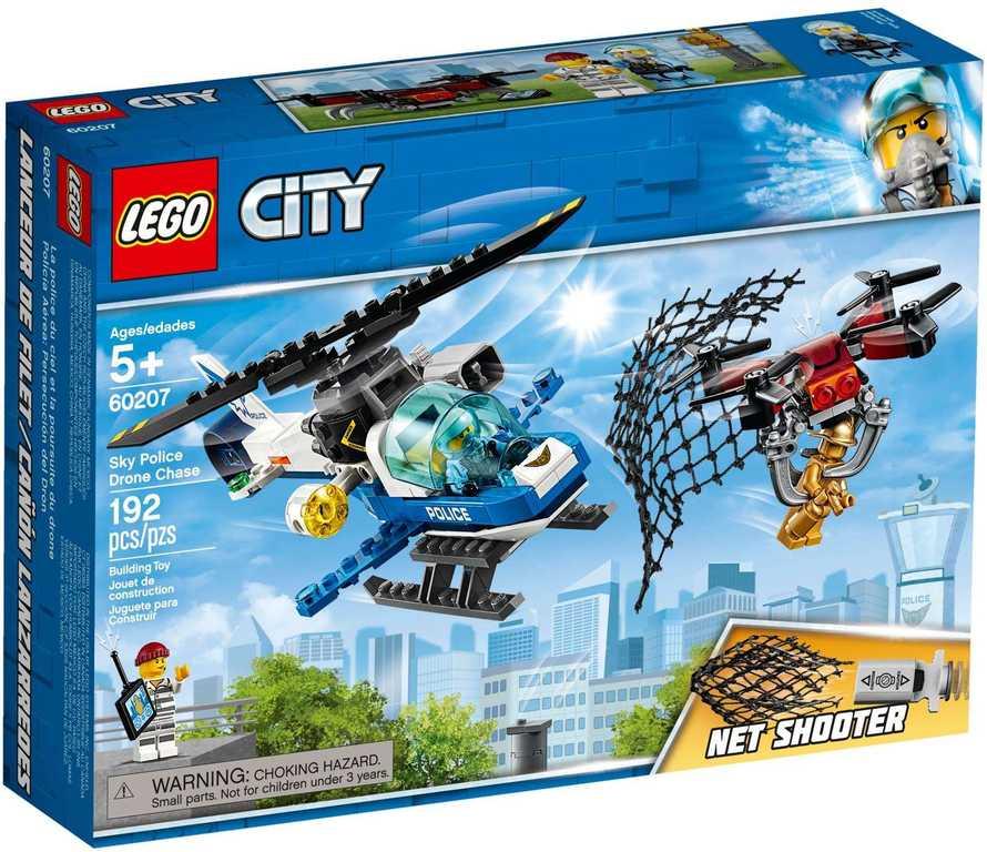 LEGO CITY Letecká policie a dron 60207