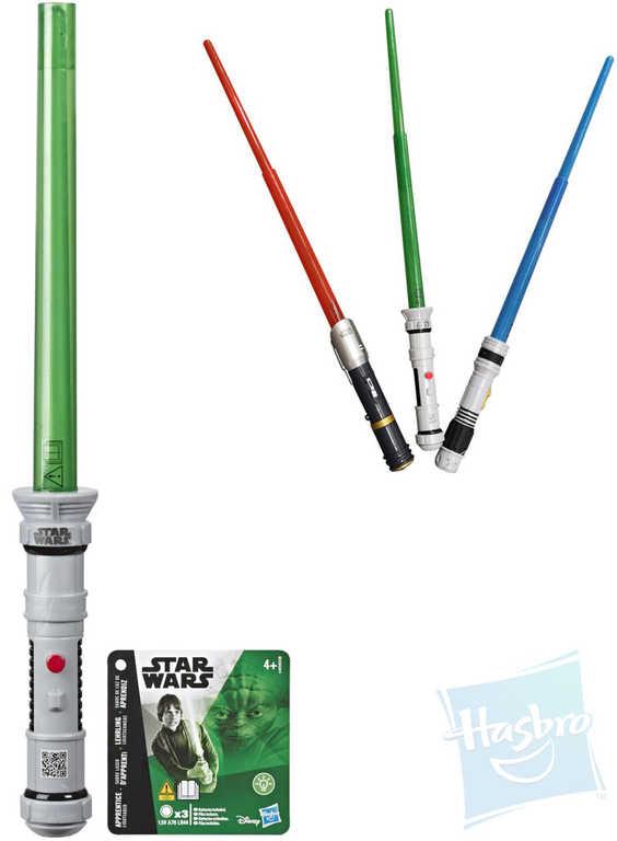 HASBRO Meč světelný Star Wars na baterie různé barvy Světlo plast
