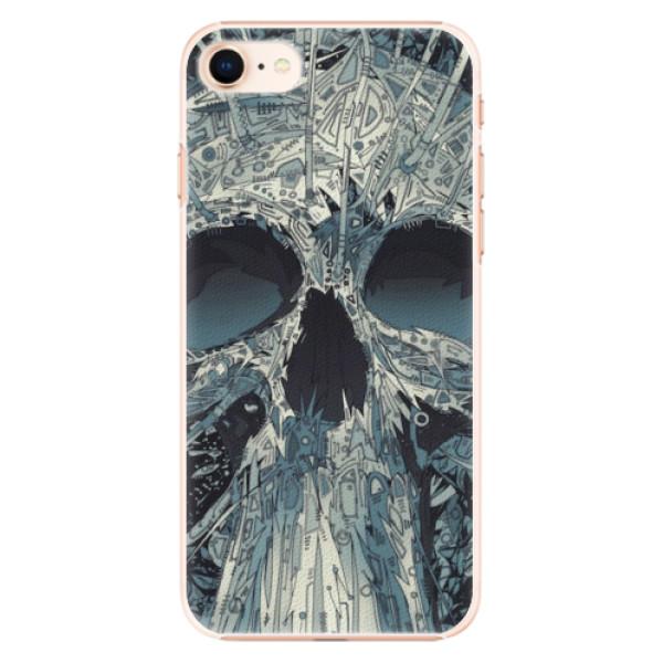 Plastové pouzdro iSaprio - Abstract Skull - iPhone 8