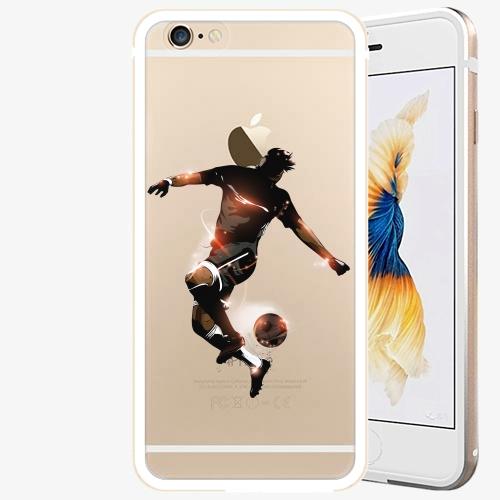 Plastový kryt iSaprio - Fotball 01 - iPhone 6 Plus/6S Plus - Gold
