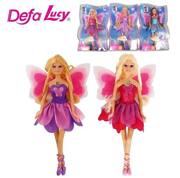 Panenka Lucy se svítícími křídly