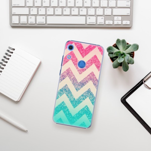 Plastové pouzdro iSaprio - Zig-Zag - Huawei Y6s