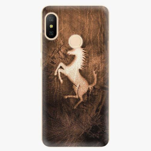 Silikonové pouzdro iSaprio - Vintage Horse - Xiaomi Mi A2 Lite