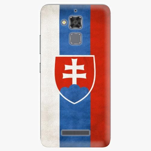 Plastový kryt iSaprio - Slovakia Flag - Asus ZenFone 3 Max ZC520TL