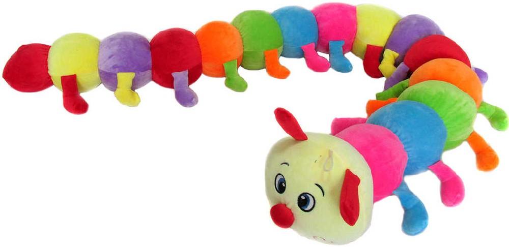 PLYŠ Baby stonožka Baruška 160 cm barevná