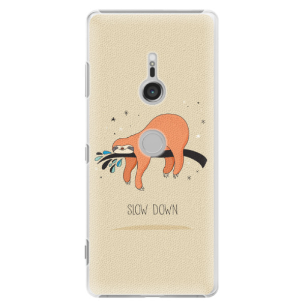 Plastové pouzdro iSaprio - Slow Down - Sony Xperia XZ3