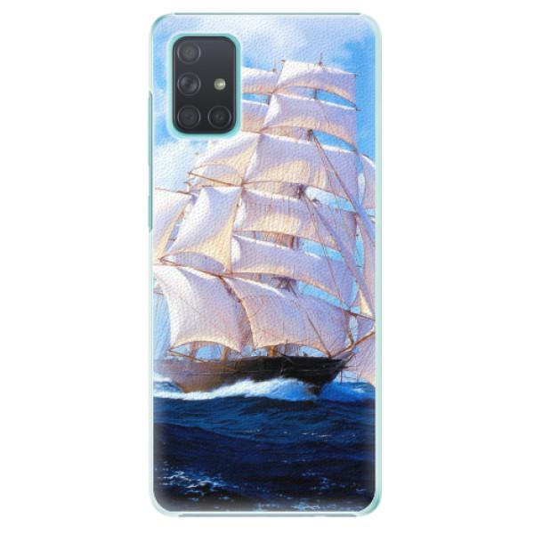Plastové pouzdro iSaprio - Sailing Boat - Samsung Galaxy A71