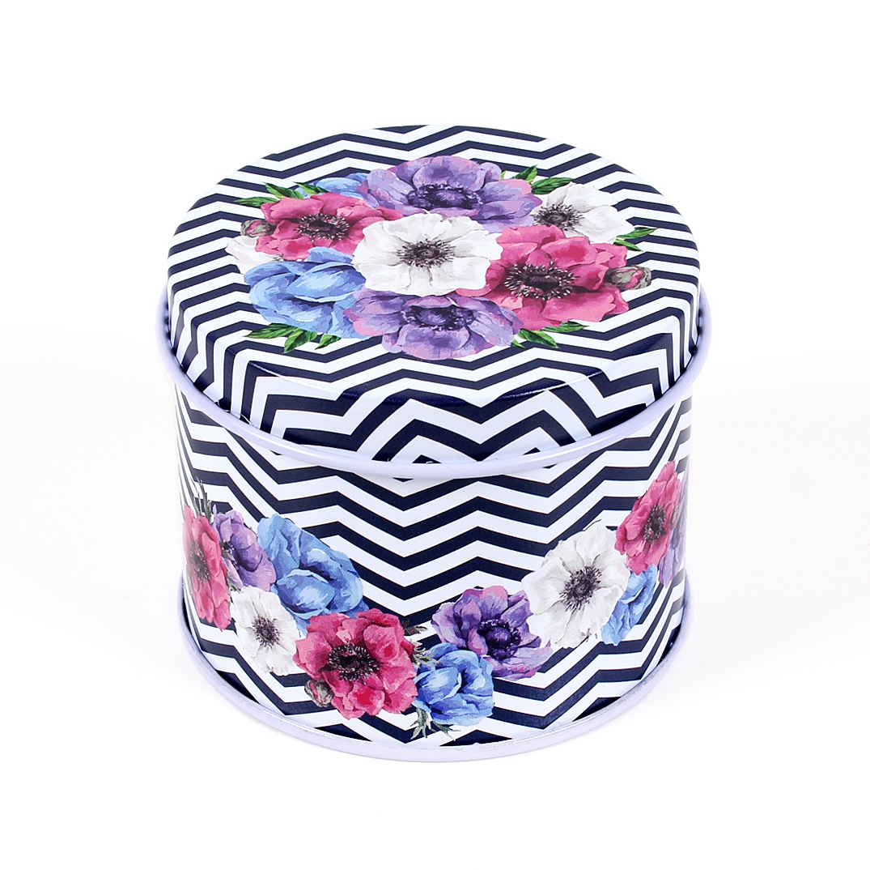 Plechovka - Květiny