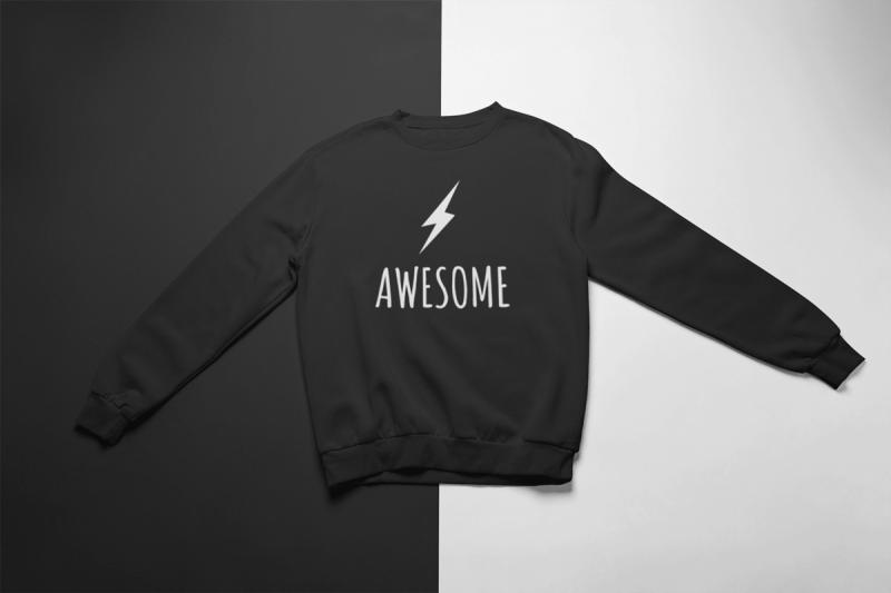 KIDSBEE Super klučičí tepláková mikina Awesome