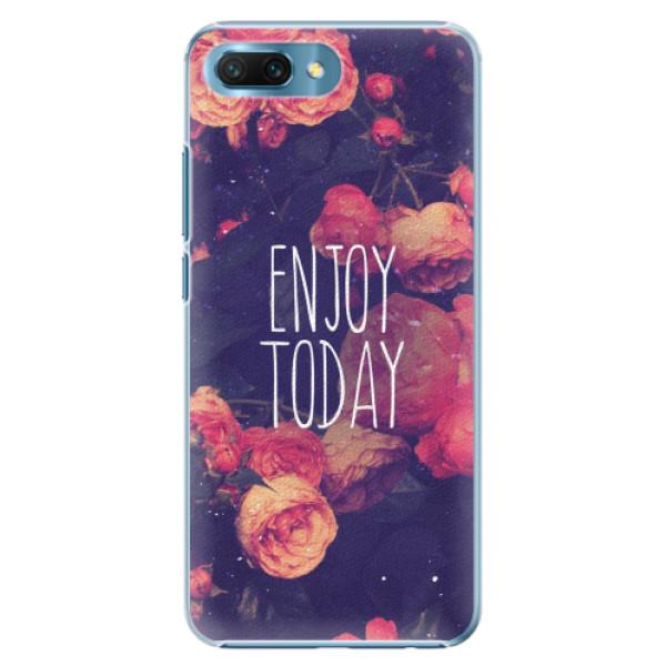 Plastové pouzdro iSaprio - Enjoy Today - Huawei Honor 10