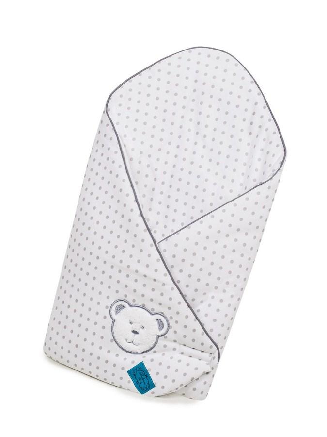 Zavinovačka s výztuží Belisima Bílý medvídek - bílá