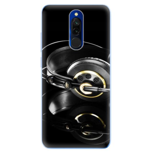 Odolné silikonové pouzdro iSaprio - Headphones 02 - Xiaomi Redmi 8