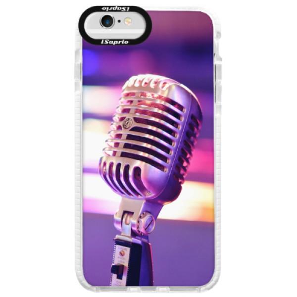 Silikonové pouzdro Bumper iSaprio - Vintage Microphone - iPhone 6/6S
