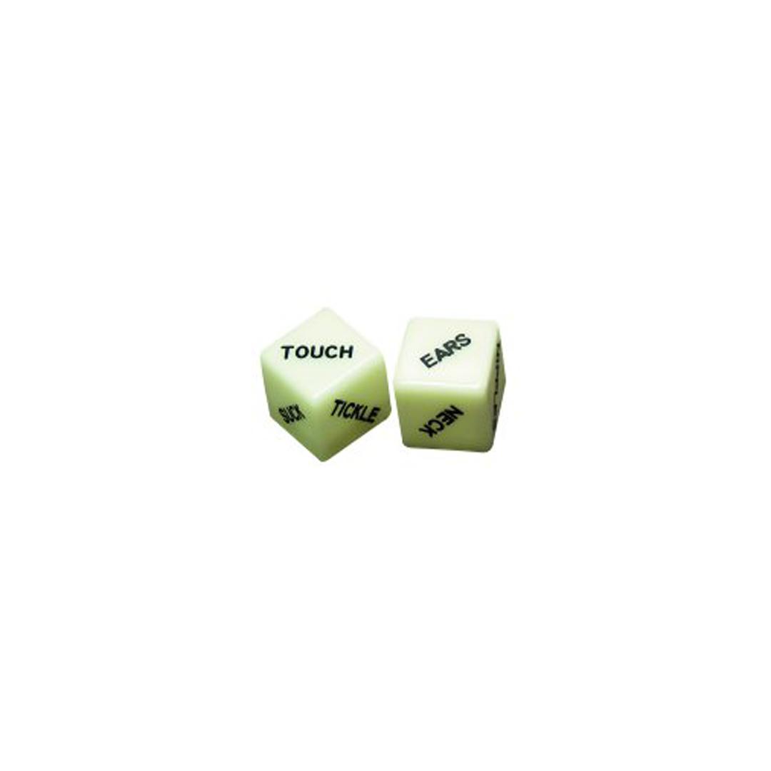 Svítící hrací kostky Dice