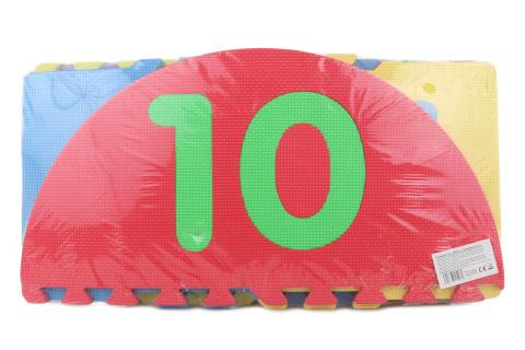 Pěnové puzzle 10 ks skákací panák