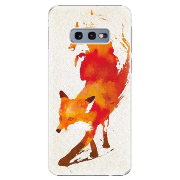 Plastové pouzdro iSaprio - Fast Fox - Samsung Galaxy S10e