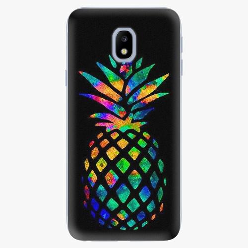 Rainbow Pineapple   Samsung Galaxy J3 2017