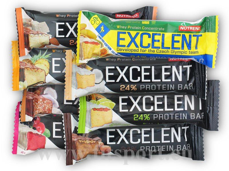 Excelent Protein Bar 40g - akce-vanilka-ananas