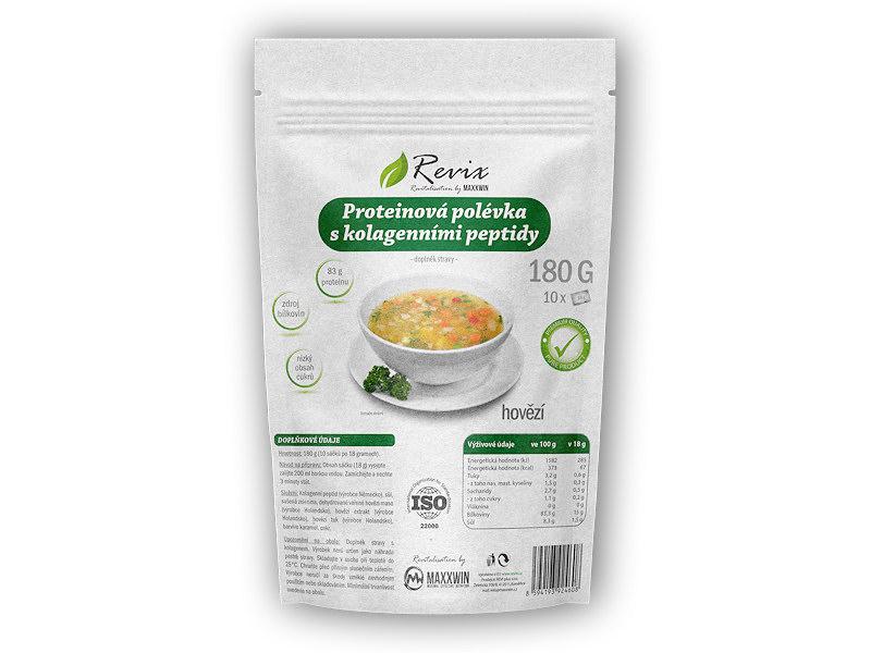 Proteinová polévka + kolagen peptidy 180g