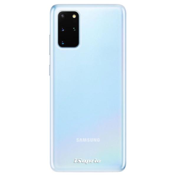 Odolné silikonové pouzdro iSaprio - 4Pure - mléčný bez potisku - Samsung Galaxy S20+