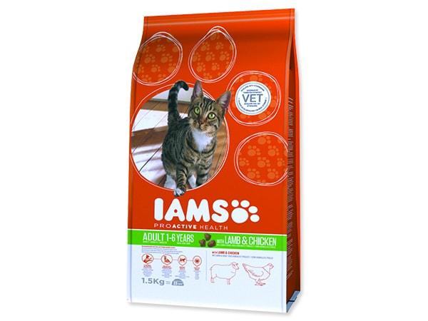 IAMS Cat rich in Lamb 1,5kg