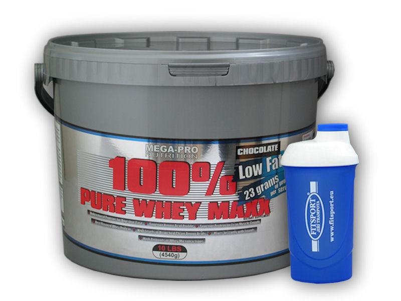 100% Pure Whey Maxx 4540g + šejkr