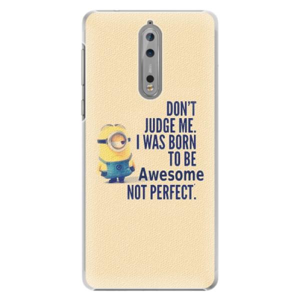 Plastové pouzdro iSaprio - Be Awesome - Nokia 8