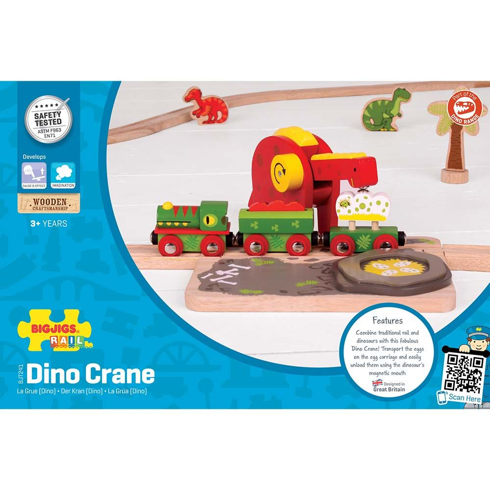 Bigjigs Rail Dinosauří jeřáb
