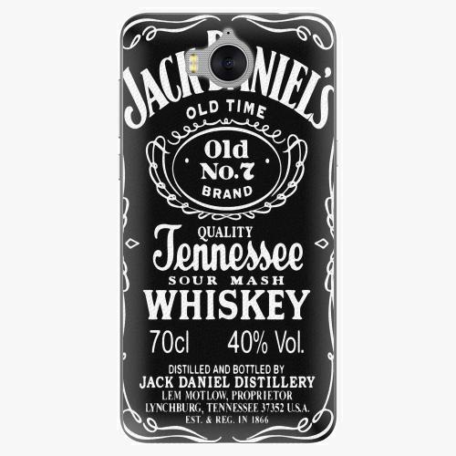 Plastový kryt iSaprio - Jack Daniels - Huawei Y5 2017 / Y6 2017
