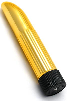 Mini vibrátor - Zlatý