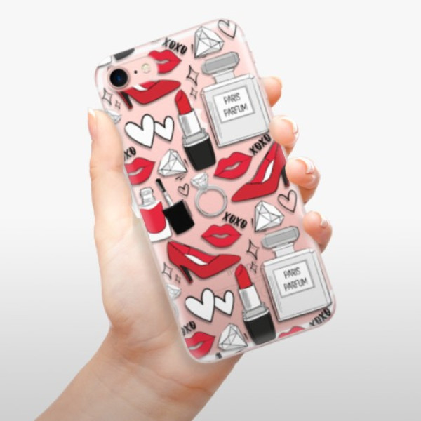 Odolné silikonové pouzdro iSaprio - Fashion pattern 03 - iPhone 7